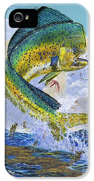 Mahi Hookup Off0020 IPhone 5 / 5s Case by Carey Chen