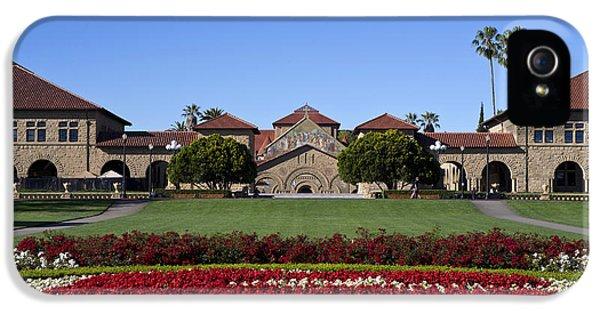 Main Quad Stanford California IPhone 5 / 5s Case by Jason O Watson