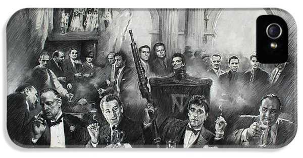 Scarface iPhone 5 Cases - Make Way For The Bad Guys iPhone 5 Case by Ylli Haruni