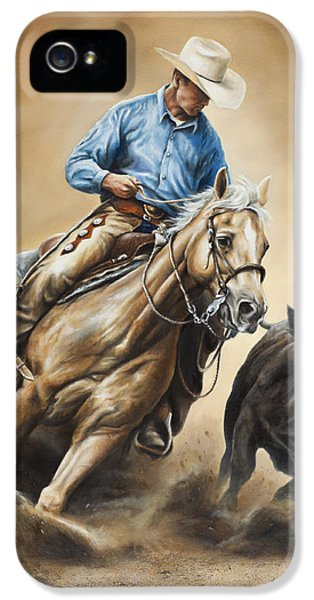 Equine iPhone 5 Cases - Making the Cut iPhone 5 Case by Kim Lockman