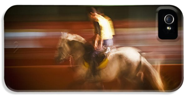 Concepts And Topics iPhone 5 Cases - Man And Horse Morocco iPhone 5 Case by Alex Adams