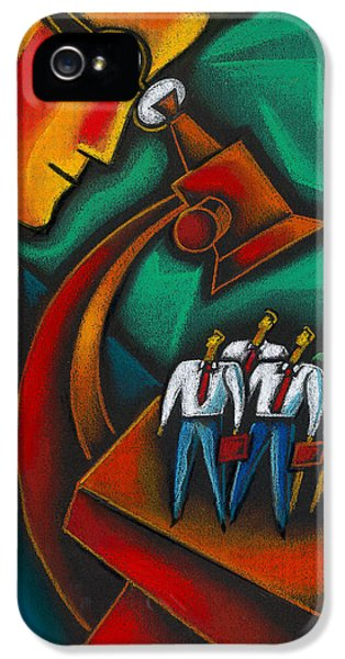 Cooperation iPhone 5 Cases - Manager iPhone 5 Case by Leon Zernitsky