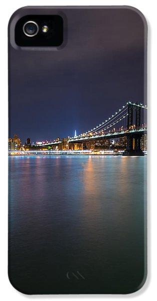 Manhattan Bridge - New York - Usa IPhone 5 / 5s Case by Larry Marshall