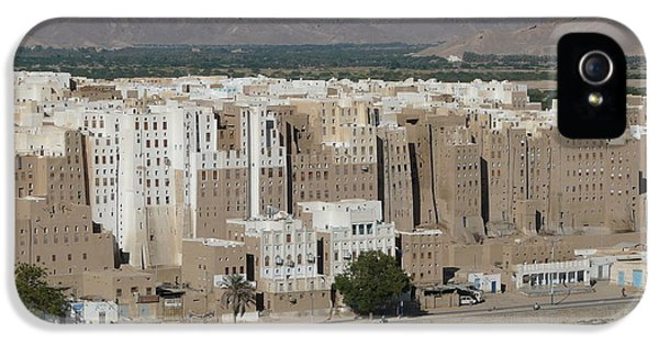 Loam iPhone 5 Cases - Manhattan of the desert iPhone 5 Case by Ivan Slosar