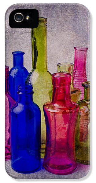 Many iPhone 5 Cases - Many Colorful Bottles iPhone 5 Case by Garry Gay