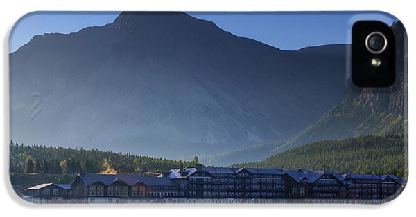 Many iPhone 5 Cases - Many Glacier Hotel iPhone 5 Case by Mark Kiver