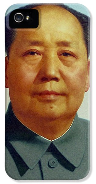 Chairman iPhone 5 Cases - Mao Zedong  iPhone 5 Case by Unknown