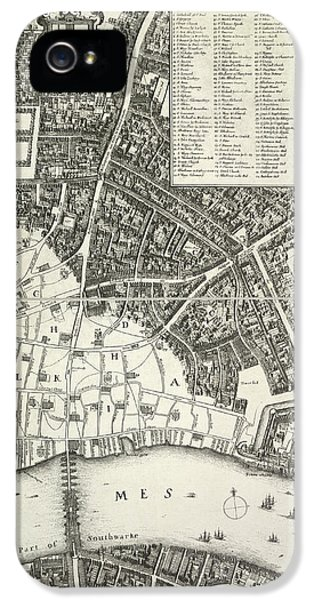 Map Of London IPhone 5 / 5s Case by British Library