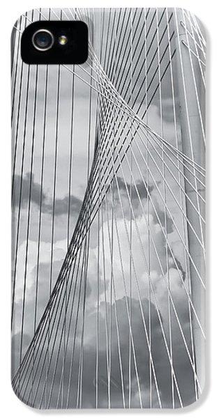 Margaret Hunt Hill Bridge IPhone 5 / 5s Case by Joan Carroll