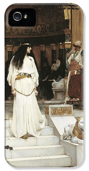 Husband iPhone 5 Cases - Mariamne, 1887 Oil On Canvas iPhone 5 Case by John William Waterhouse