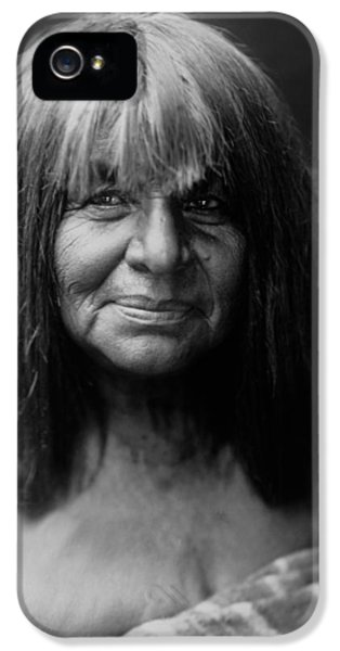 Native American Woman iPhone 5 Cases - Maricopa Indian Women circa 1907 iPhone 5 Case by Aged Pixel