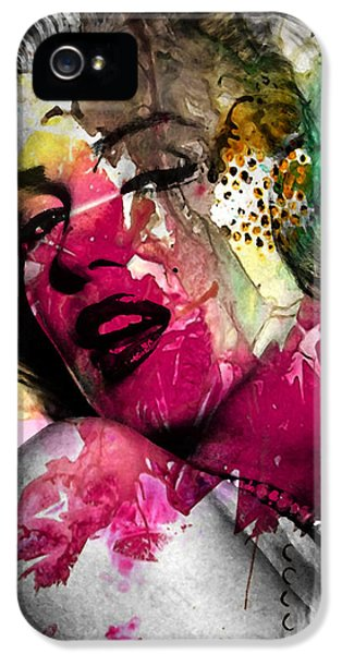 Gay Art iPhone 5 Cases - Marilyn Monroe iPhone 5 Case by Mark Ashkenazi