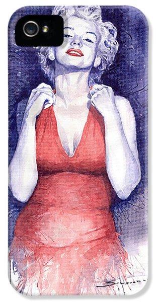 Marilyn Monroe IPhone 5 / 5s Case by Yuriy  Shevchuk