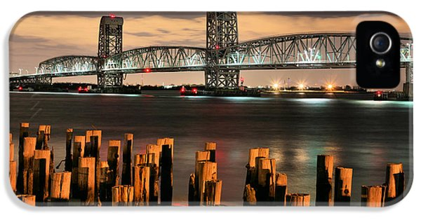 Gil iPhone 5 Cases - Marine Parkway Bridge iPhone 5 Case by JC Findley