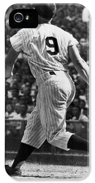 Maris Hits 52nd Home Run IPhone 5 / 5s Case by Underwood Archives