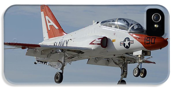 Mcdonnell Douglas iPhone 5 Cases - McDonnell-Douglas T-45C Goshawk BuNo 165632 NAF el Centro February 19 2015 iPhone 5 Case by Brian Lockett