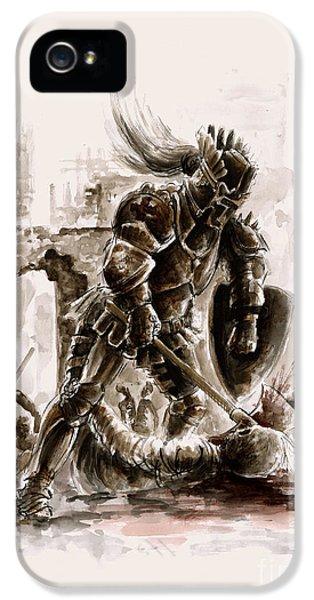 Medieval Knight IPhone 5 / 5s Case by Mariusz Szmerdt