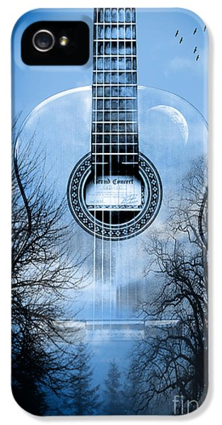 Fire Works iPhone 5 Cases - Melody Mystic Night  iPhone 5 Case by Mark Ashkenazi