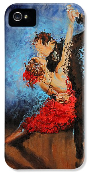 Dance iPhone 5 Cases - Melting iPhone 5 Case by Karina Llergo Salto