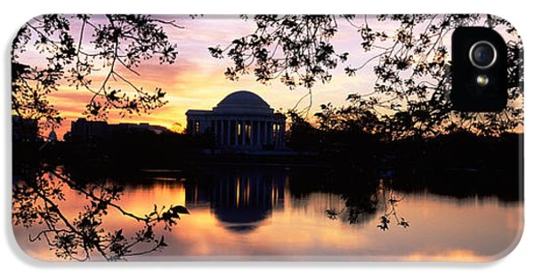 Memorial At The Waterfront, Jefferson IPhone 5 / 5s Case by Panoramic Images