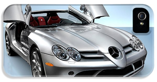 Mercedes Benz Slr Mclaren IPhone 5 / 5s Case by Oleksiy Maksymenko