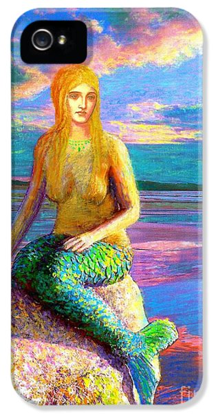 Colourful iPhone 5 Cases - Mermaid Magic iPhone 5 Case by Jane Small