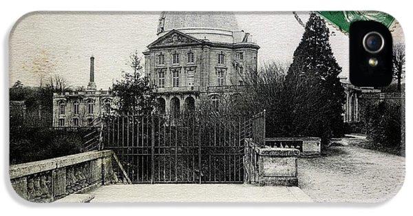 Meudon Grand Lunette Observatory IPhone 5 / 5s Case by Detlev Van Ravenswaay