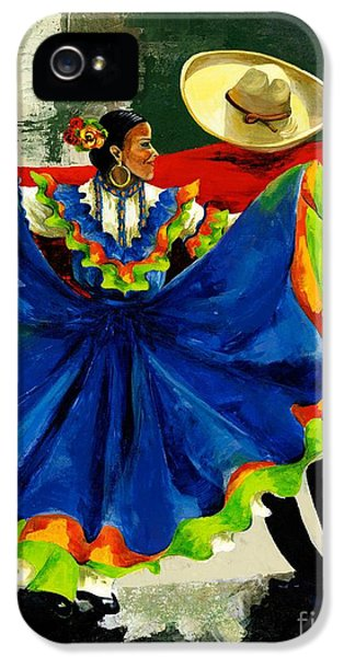 Mexican Dancers IPhone 5 / 5s Case by Elisabeta Hermann