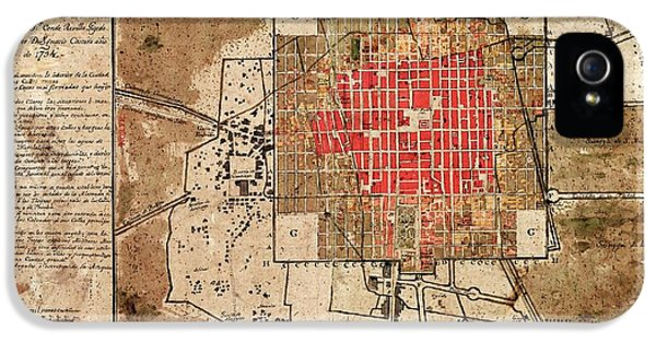 Mexico City Urban Development IPhone 5 / 5s Case by Library Of Congress