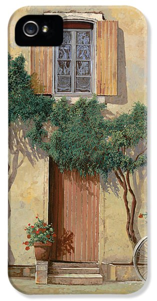 Mezza Bicicletta Sul Muro IPhone 5 / 5s Case by Guido Borelli