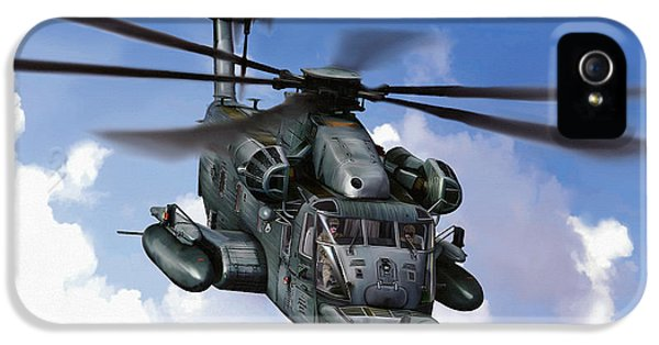 Vietnam War iPhone 5 Cases - MH-53J Pavelow III iPhone 5 Case by Dale Jackson