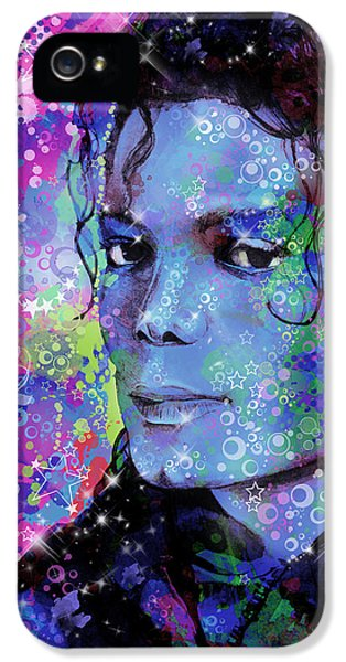Moon Walk iPhone 5 Cases - Michael Jackson 17 iPhone 5 Case by MB Art factory