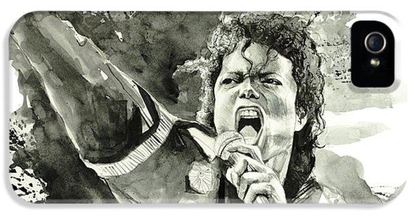 Moon Walk iPhone 5 Cases - Michael Jackson 2 iPhone 5 Case by MB Art factory