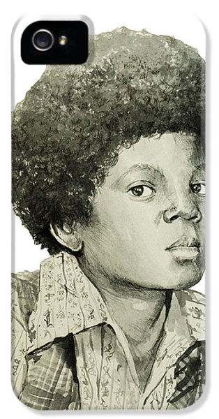 Moon Walk iPhone 5 Cases - Michael Jackson 5 iPhone 5 Case by MB Art factory