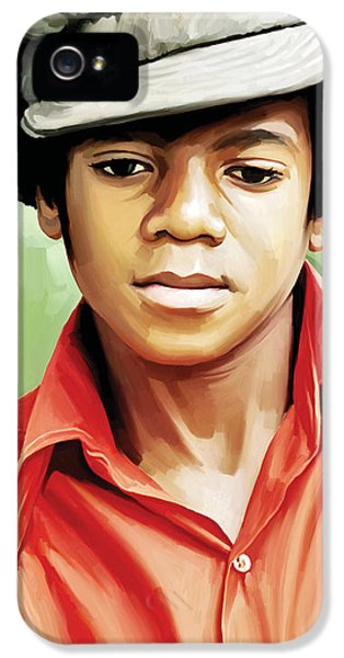 Michael Jackson iPhone 5 Cases - Michael Jackson Artwork 5 iPhone 5 Case by Sheraz A