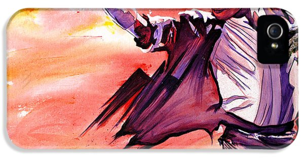 Moon Walk iPhone 5 Cases - Michael Jackson-Billie Jean iPhone 5 Case by Joshua Morton