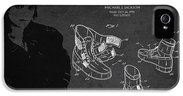 Michael Jackson Patent IPhone 5 / 5s Case by Aged Pixel