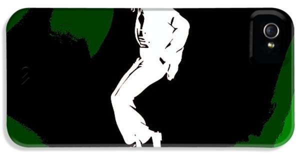 Mj iPhone 5 Cases - Michael Jackson Poster iPhone 5 Case by Dan Sproul