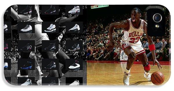 Michael Jordan Shoes IPhone 5 / 5s Case by Joe Hamilton
