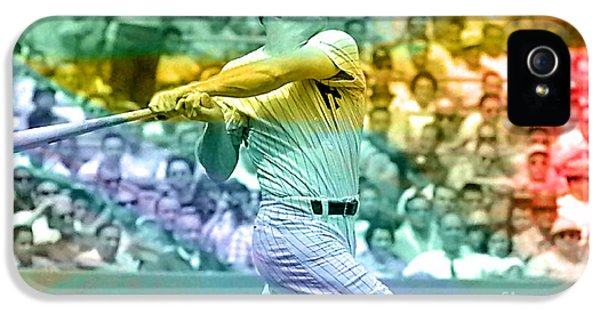 Mickey Mantle IPhone 5 / 5s Case by Marvin Blaine