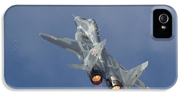 Mig29 - Fulcrum IPhone 5 / 5s Case by Pat Speirs