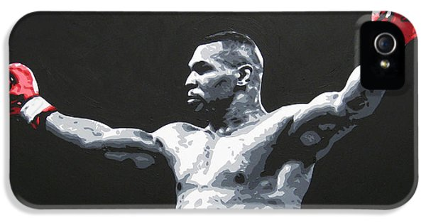 Mike Tyson 1 IPhone 5 / 5s Case by Geo Thomson