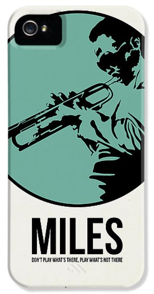 Classical iPhone 5 Cases - Miles Poster 1 iPhone 5 Case by Naxart Studio