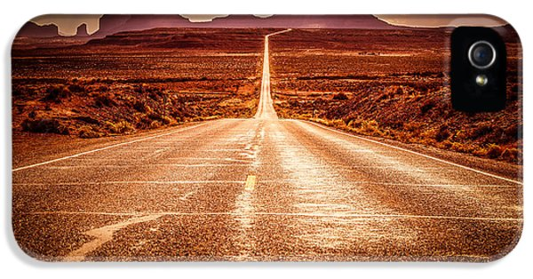 Miles To Go Special Request IPhone 5 / 5s Case by Jennifer Grover