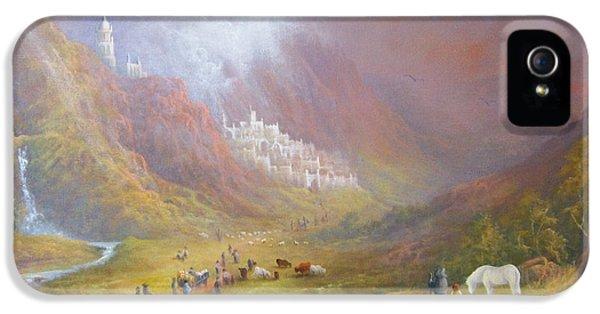 Minas Tirith  War Approaches. IPhone 5 / 5s Case by Joe  Gilronan