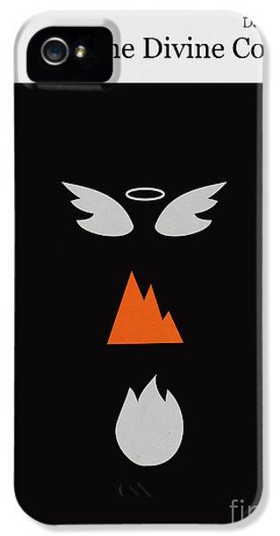 Minimalist iPhone 5 Cases - Minimalist book cover the divine comedy iPhone 5 Case by Budi Satria Kwan