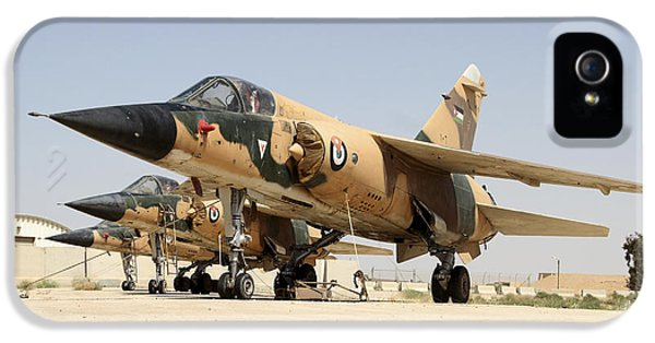 Air Jordan iPhone 5 Cases - Mirage F.1 Fighter Planes Of The Royal iPhone 5 Case by Ofer Zidon