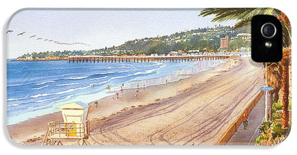 Board iPhone 5 Cases - Mission Beach San Diego iPhone 5 Case by Mary Helmreich