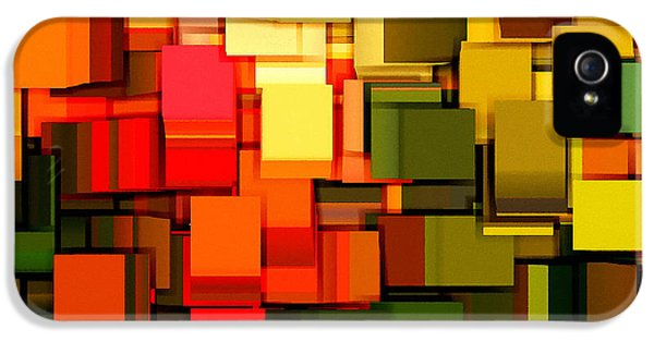 Modern Abstract I IPhone 5 / 5s Case by Lourry Legarde