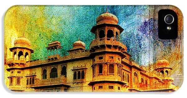 Pakistan iPhone 5 Cases - Mohatta Palace iPhone 5 Case by Catf